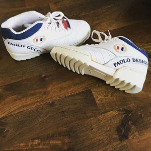 Vintage 90s Paolo Gucci Sneakers
